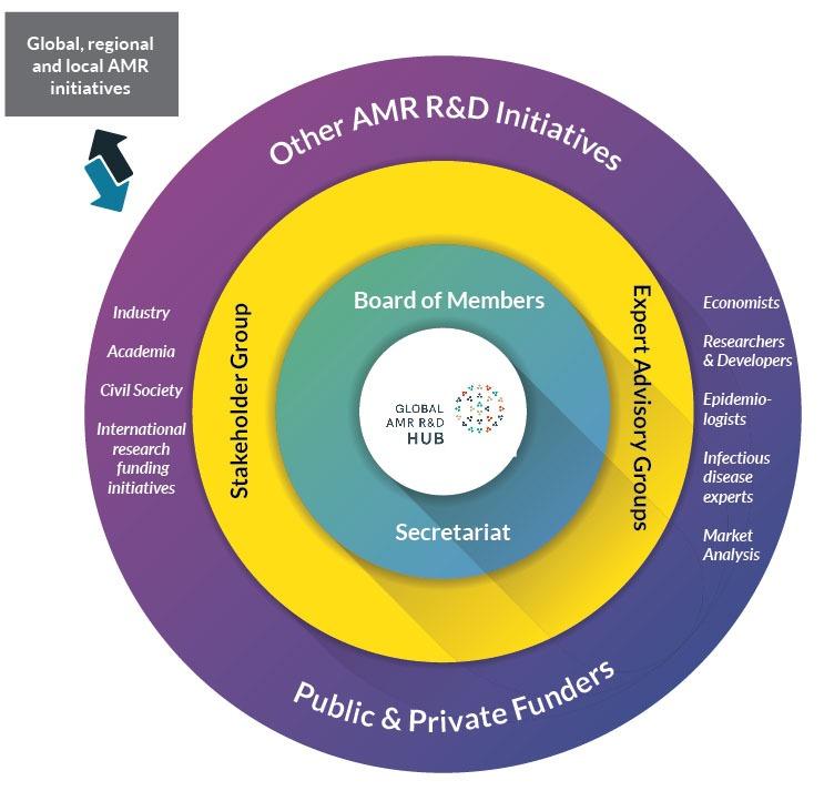 The Global AMR R&D Hub – Enhancing the international